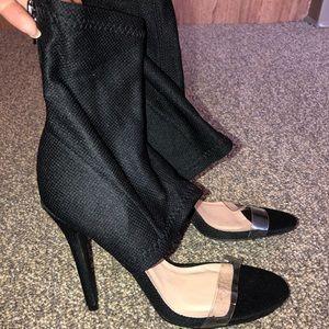 """Charlotte Russe """"Sock"""" Heel"""